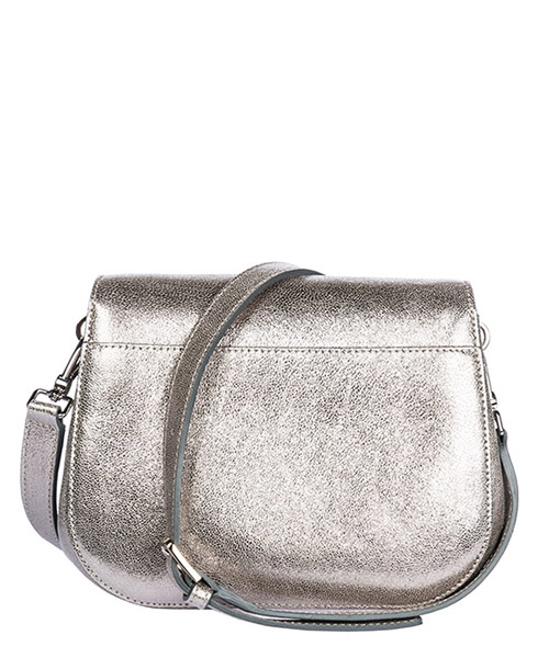 Women's leather cross-body messenger shoulder bag margherita secondary image