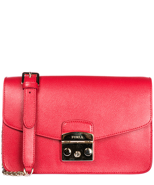 Shoulder bag Furla Metropolis 972393 rosso
