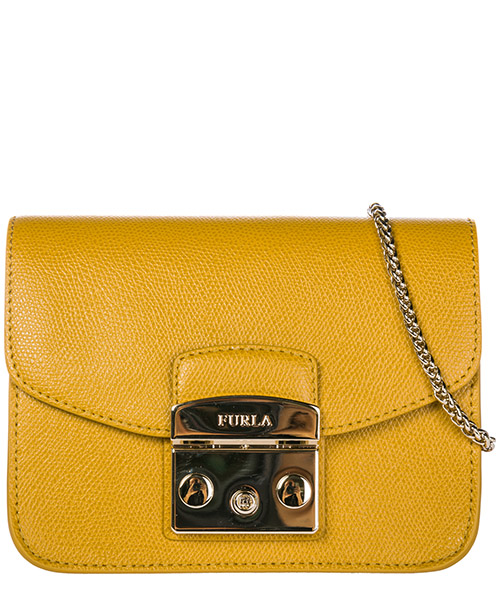 Shoulder bag Furla Metropolis 978166BGZ7 giallo