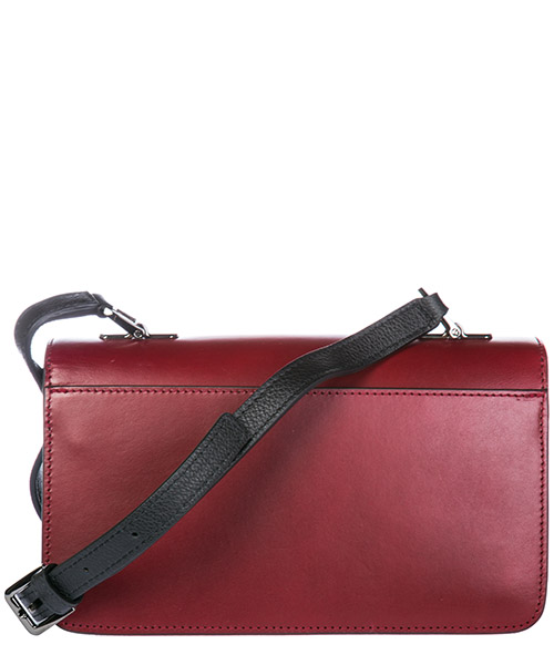 Women's leather cross-body messenger shoulder bag bellaria secondary image