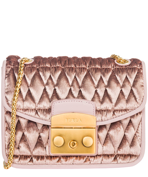 Crossbody bag Furla Metropolis cometa mini 993925 rosa
