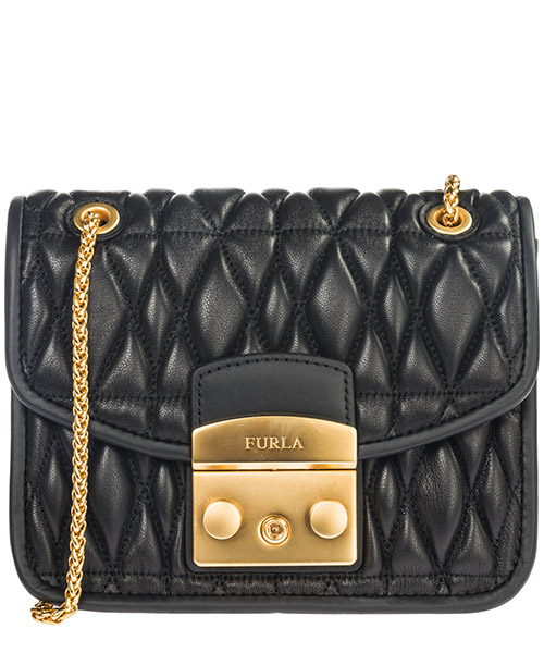 Crossbody bag Furla Metropolis cometa mini 993939 nero