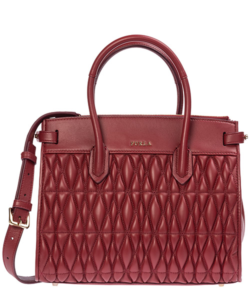 Handbags Furla pin cometa 994223 ciliegia