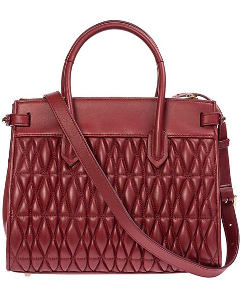 Women's leather handbag shopping bag purse pin cometa secondary image
