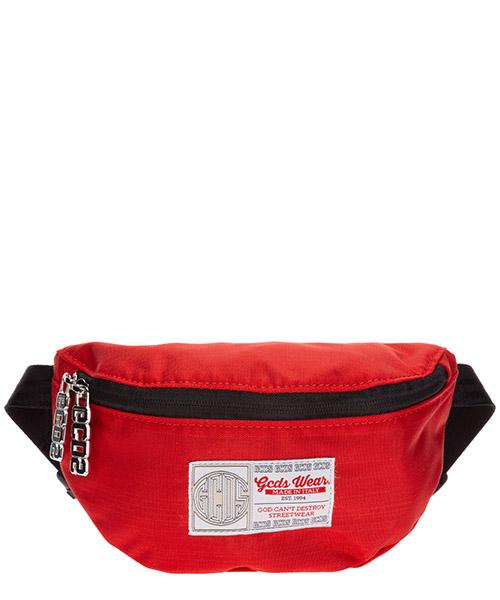 Bum bag GCDS SS20M010021-03 rosso