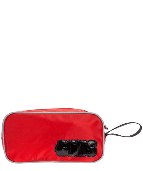 Toiletry bag GCDS SS20M010045-03 rosso