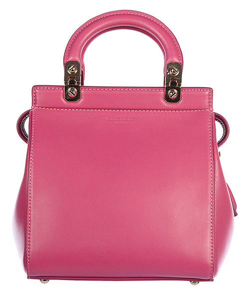 Borsa donna a mano shopping in pelle vintage mini top hdg secondary image