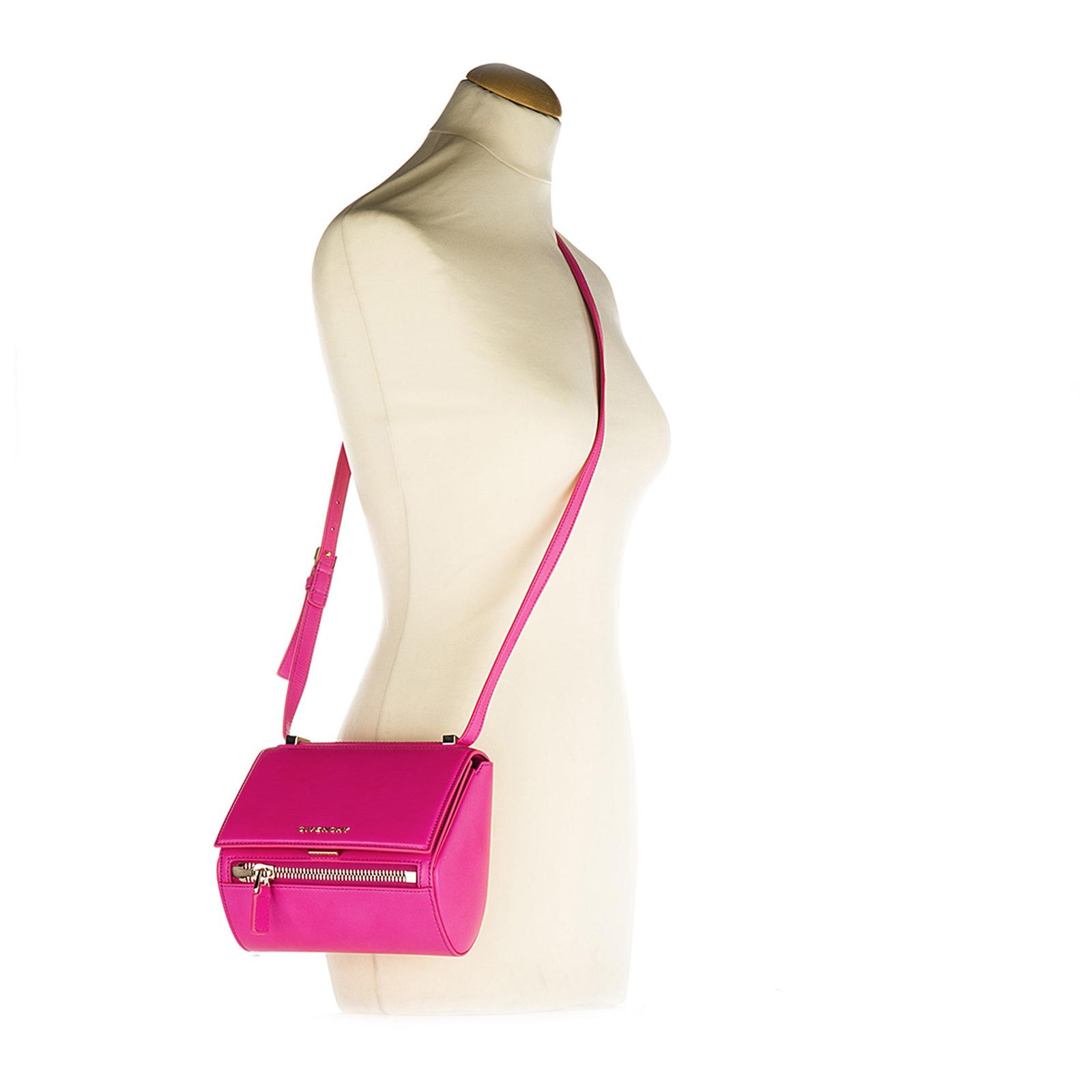 Bolso con bandolera mujer en piel pandora box mini
