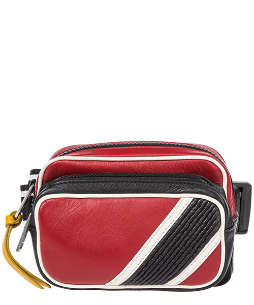 Gürteltasche Givenchy BK502WK08X-973 black / white / red