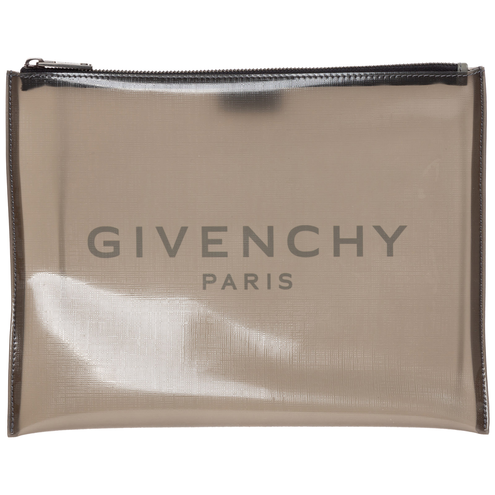 Givenchy Men's Briefcase Document Holder Wallet In Grey