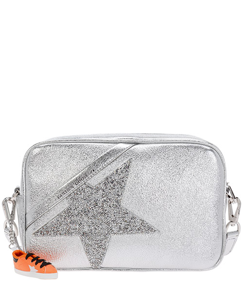 Crossbody bags Golden Goose Star GWA00101.A000102.70130 argento