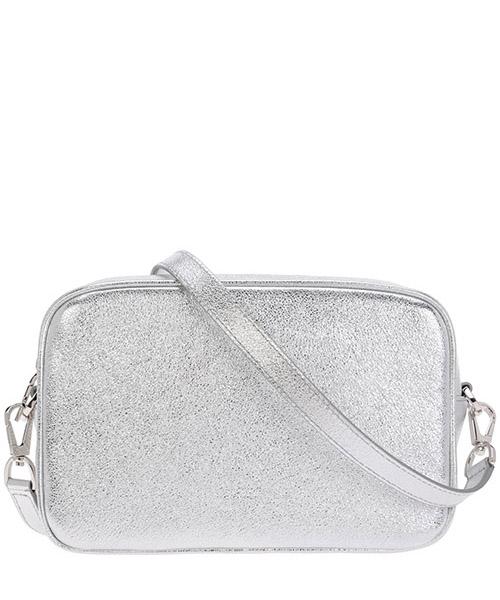 Women's leather cross-body messenger shoulder bag star secondary image