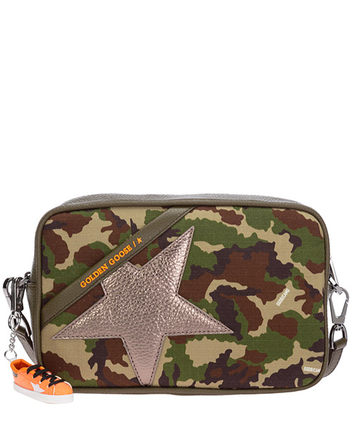 Crossbody bags Golden Goose Star GWA00101.A000113.80430 camouflage