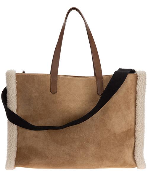 Schultertasche wildleder damen tasche umhängetasche bag california secondary image