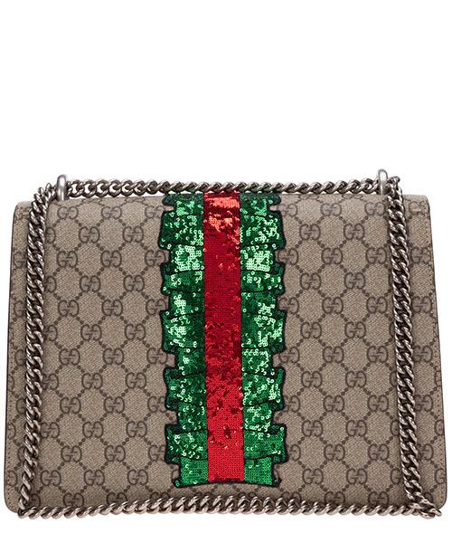 Women's shoulder bag  dionysus medium embroidered secondary image