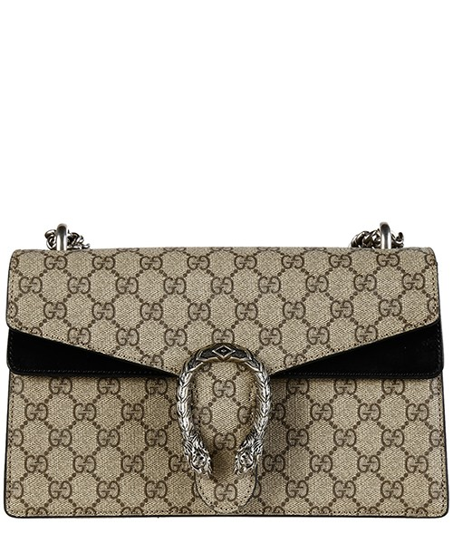 Women's shoulder bag  gg supreme dionysus