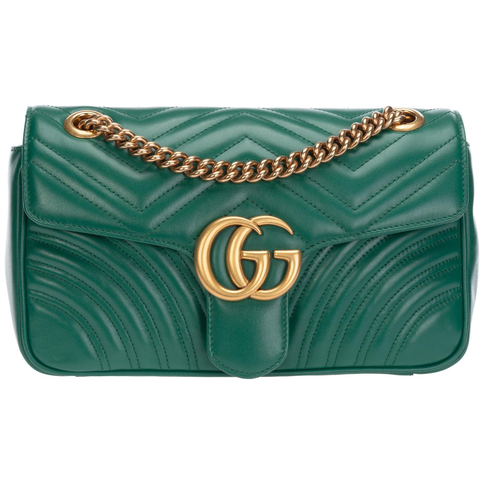 Gucci Shoulder bags WOMEN'S LEATHER SHOULDER BAG GG MARMONT