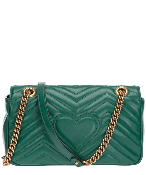 Women's leather shoulder bag gg marmont secondary image