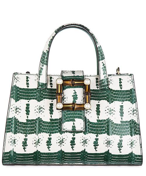 Bolsas de mano Gucci Nymphaea 453756 LSA3G 8383 verde