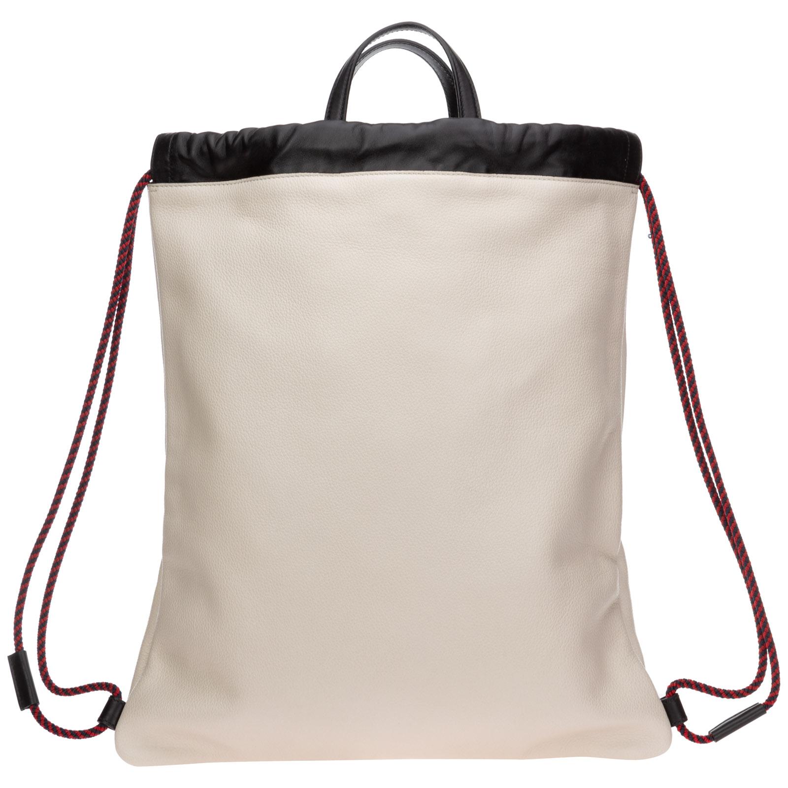 Men's leather rucksack backpack travel