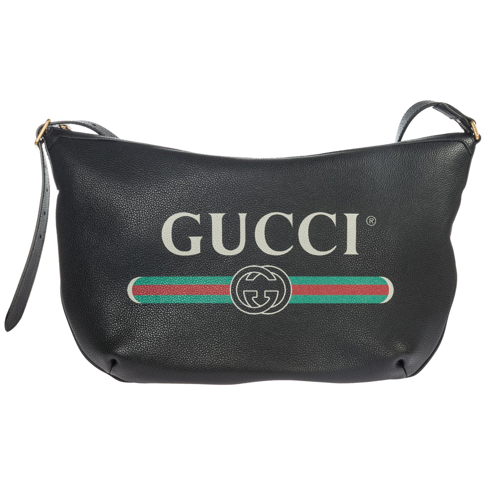 5efd7303e75 Gucci Women s leather cross-body messenger shoulder bag gucci print