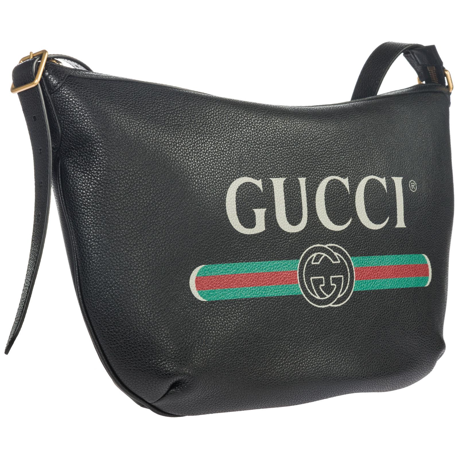 2bdda93cd80 ... Women s leather cross-body messenger shoulder bag gucci print ...