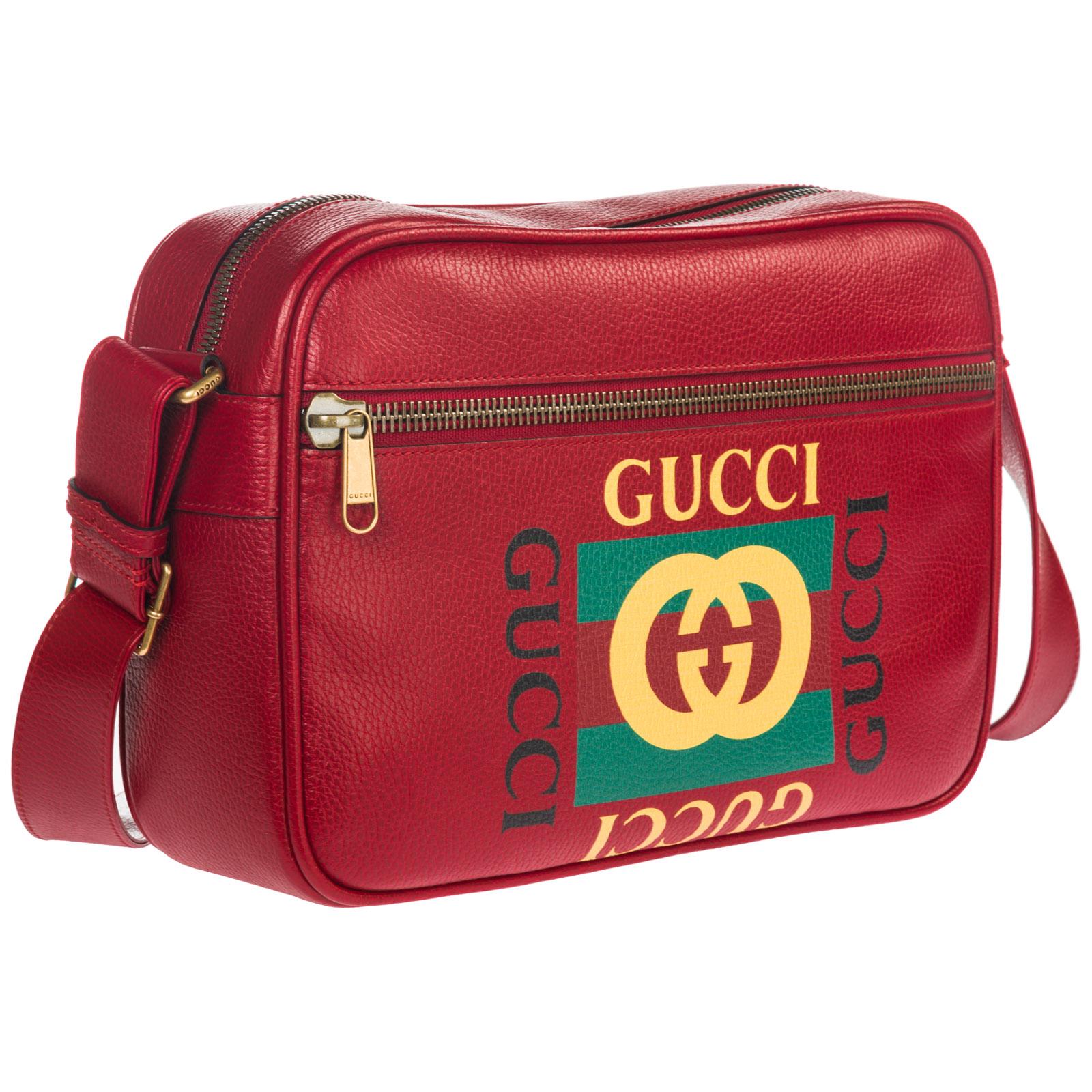 Borsa a tracolla Gucci 523589 0QSAT 6461 rosso  595ce60035e