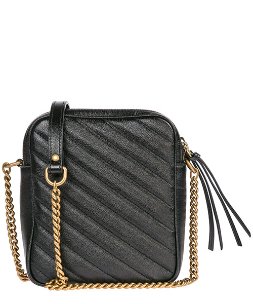 Women's leather shoulder bag marmont secondary image