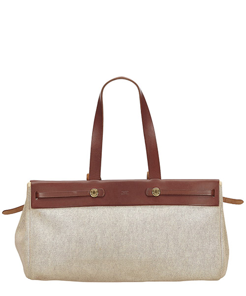 Shoulder bag Hermes Pre-Owned 8DHETO006 bianco