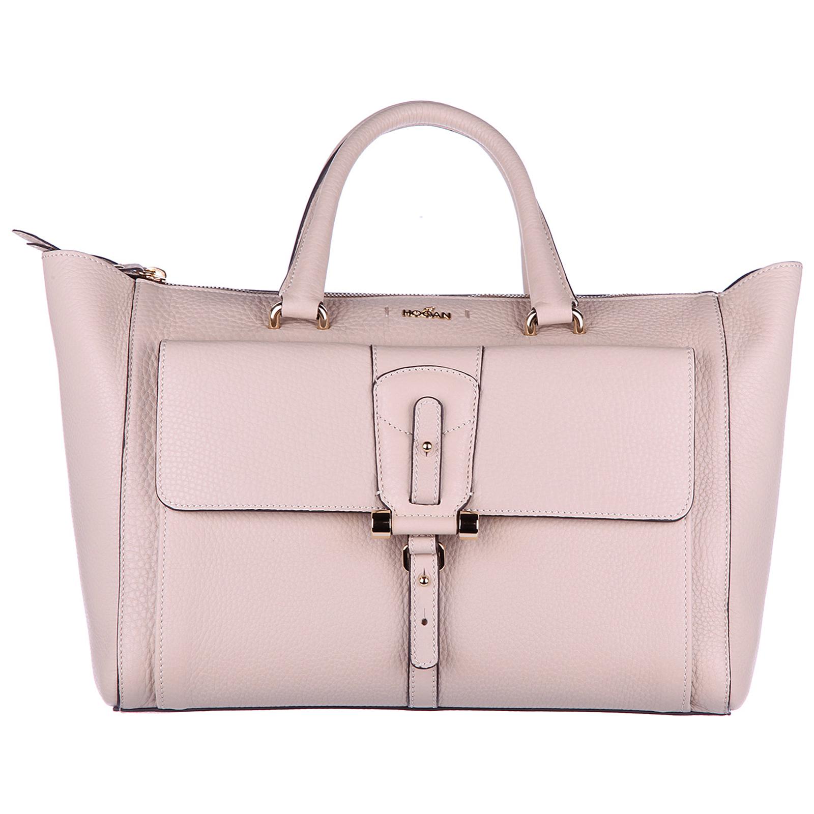ebfadfdfca2e Hogan Women s leather handbag shopping bag purse