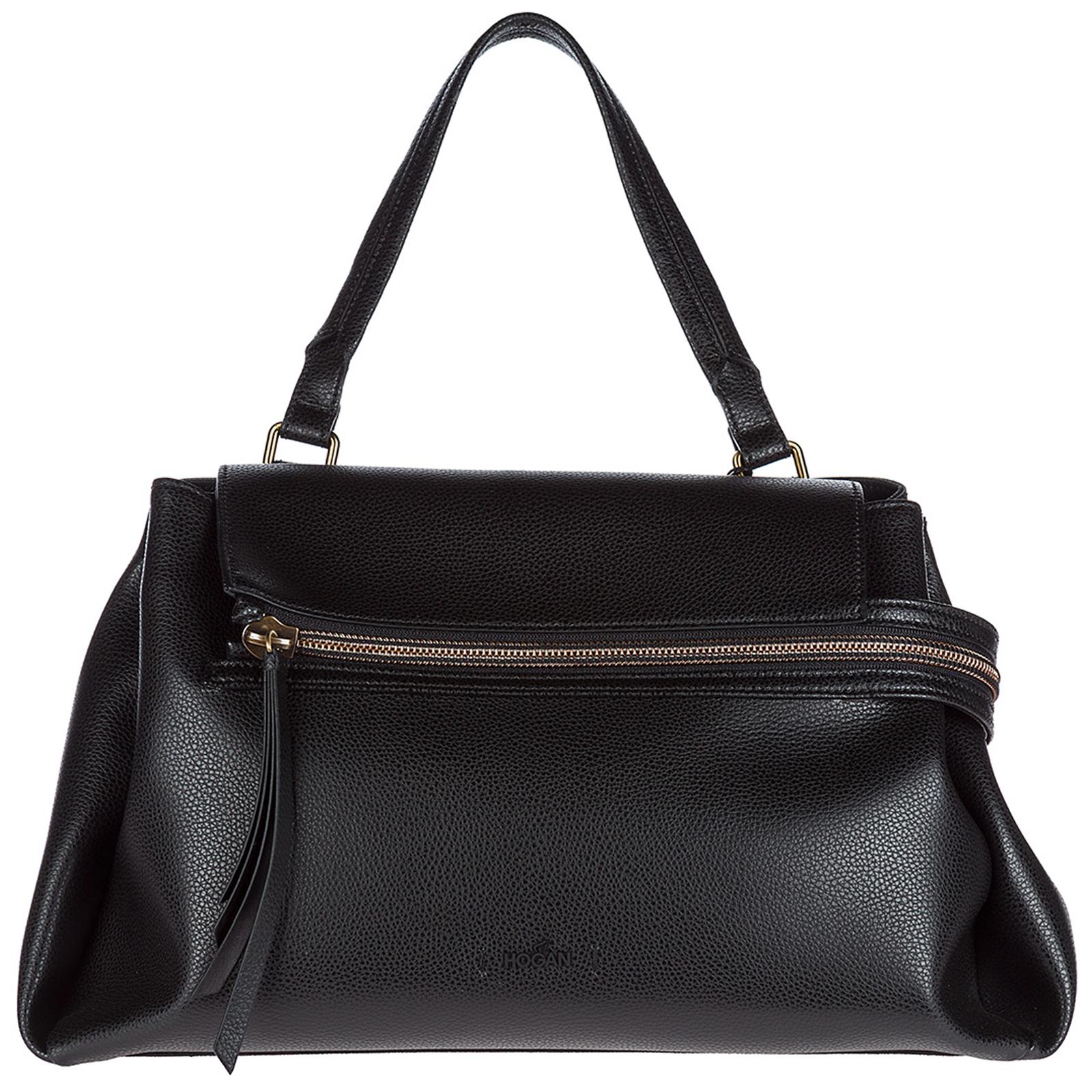 3956b77be856 Handbag Hogan Clubbing KBW00RA1401HO8B999 nero