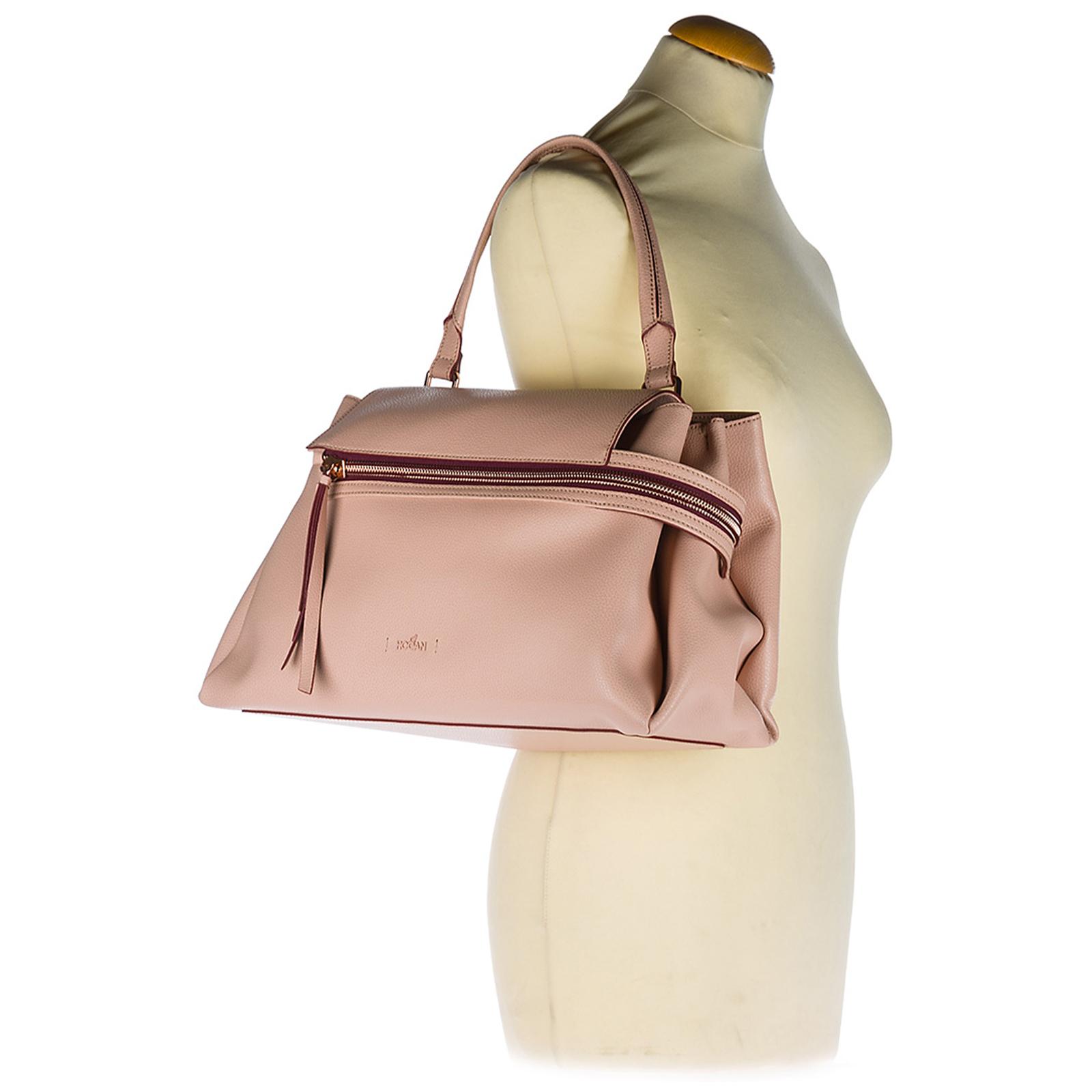 Tasche Bag Leder Umhängetasche Damen Clubbing Schultertasche wO8n0Pk