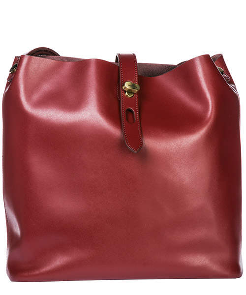 Shoulder bag Hogan Hobo KBW010E0300J60R604 bordeaux