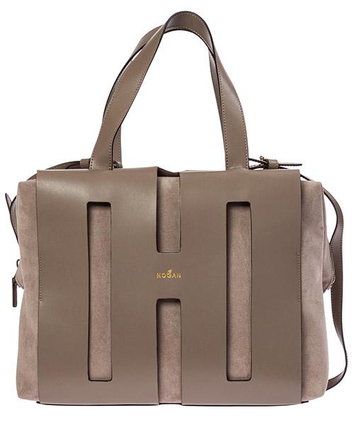 Bolsas de mano Hogan Bi Bag KBW015H0300LKK0QTH grigio
