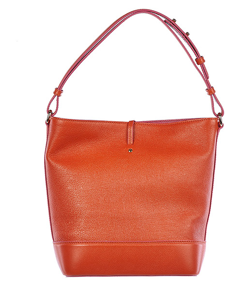 Women's leather shoulder bag secchiello nappine secondary image