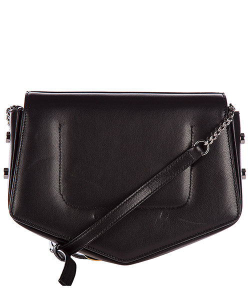 Women's leather cross-body messenger shoulder bag arrow secondary image
