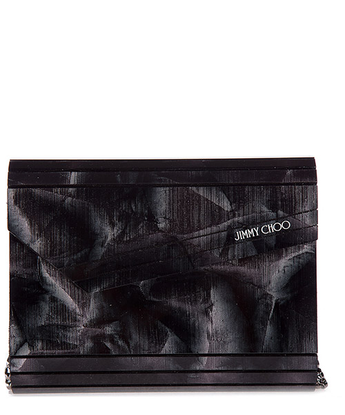 Clutch bags Jimmy Choo CANDYCKY anthracite