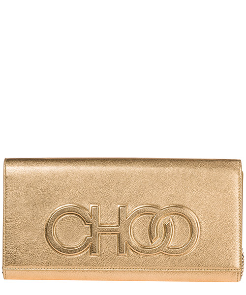 Clutch Jimmy Choo Scottie SCOTTIETJC gold