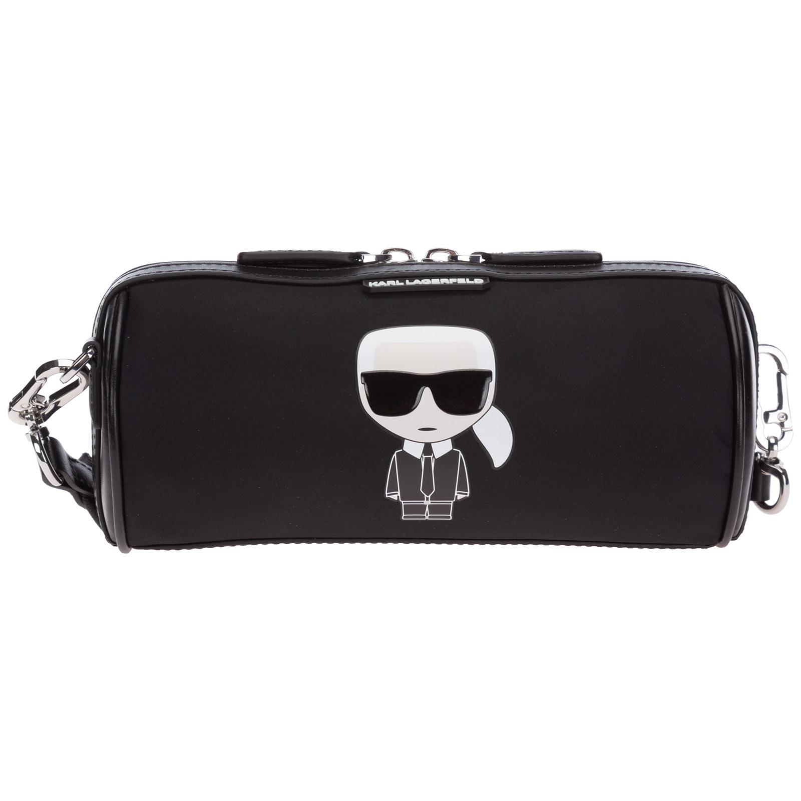 Karl Lagerfeld Shoulder bags WOMEN'S LEATHER SHOULDER BAG K/IKONIK
