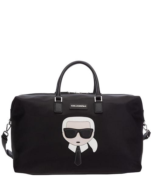 Duffle bag Karl Lagerfeld K/Ikonik 205W3013 nero