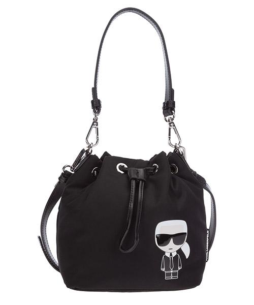 Shoulder bag Karl Lagerfeld K/Ikonik 205W3017 nero