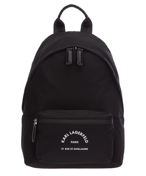 Backpack Karl Lagerfeld Rue St Guillaume 205W3032 nero