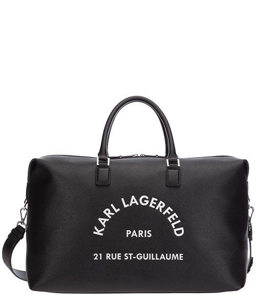 Sac de voyage Karl Lagerfeld Rue St Guillaume 205W3043 nero