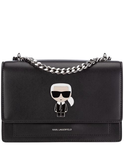 Shoulder bag Karl Lagerfeld K/Ikonik 205W3057 nero