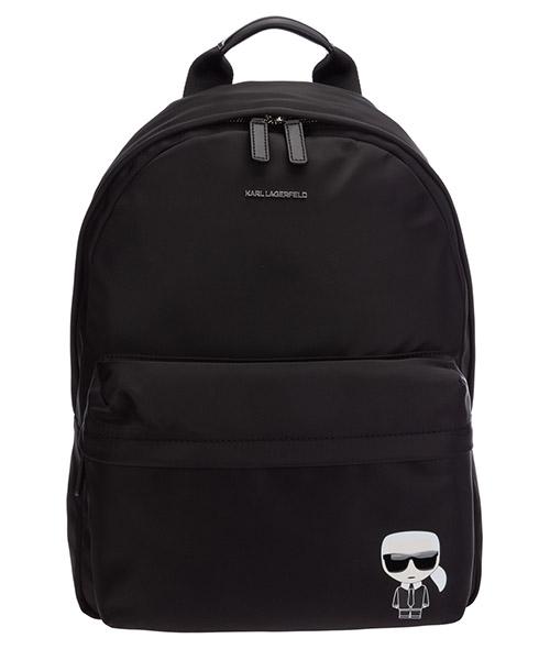 Backpack Karl Lagerfeld K/Ikonik 205W3092 nero