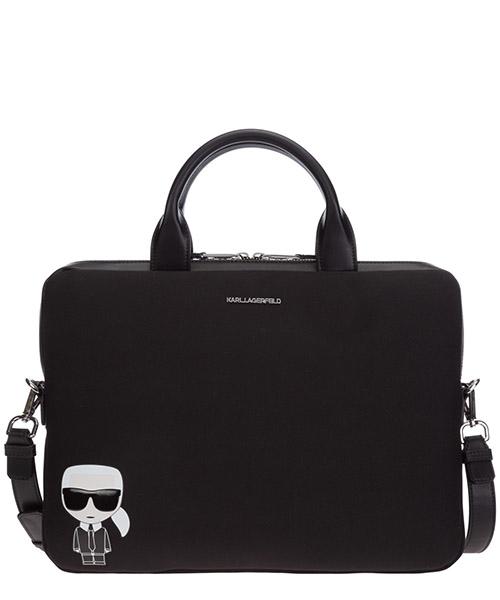 Briefcase Karl Lagerfeld K/Ikonik 205W3242 nero