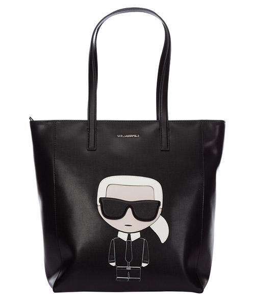 Bolsa de asa larga Karl Lagerfeld k/ikonik 20KW201W3057 nero