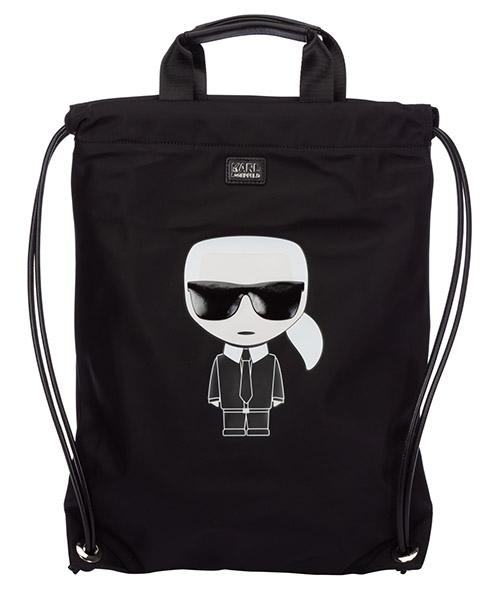 Mochila Karl Lagerfeld k/ikonik 20KW201W3090 nero