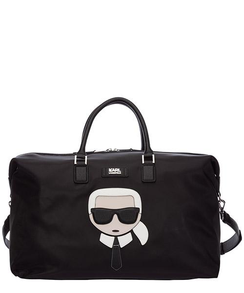 Bolsos de viaje Karl Lagerfeld k/ikonik 20KW201W3091 nero