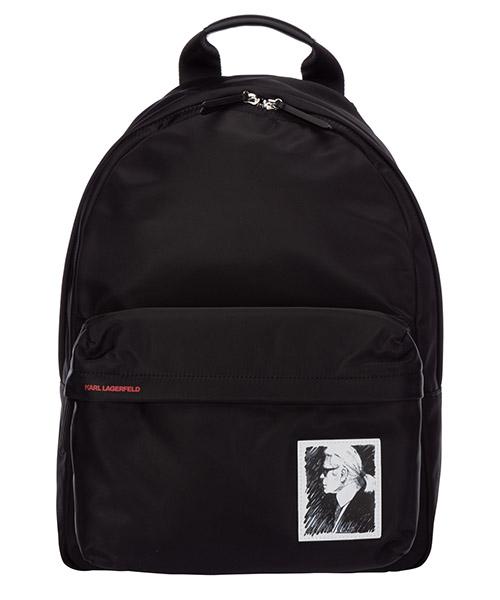 Mochila Karl Lagerfeld legend 20KW201W3123 nero